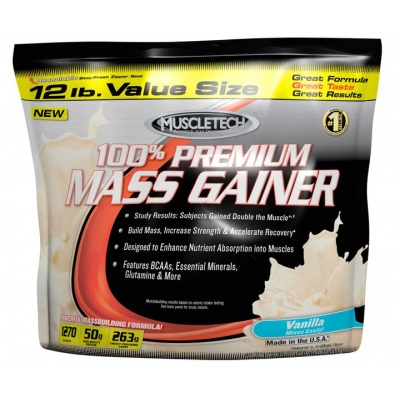 Гейнер MuscleTech 100% Premium Mass Gainer 5400 гр
