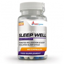 Антиоксидант WestPharm Sleep Well 60 caps