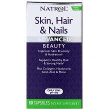 Витамины Natrol Skin Hair Nails Women`s  60 капс