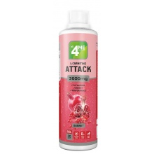 Л-Карнитин 4ME Nutrition L-carnitine+Guarana Attack 3600  500 мл