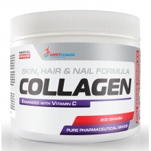 Коллаген WestPharm Collagen + Vitamin C 200 гр